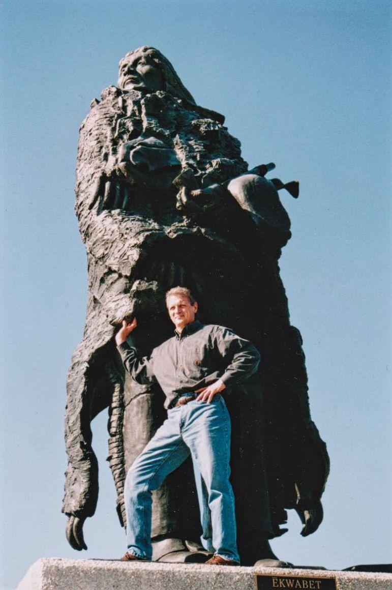 Guy J. Bellaver with Ēkwabet